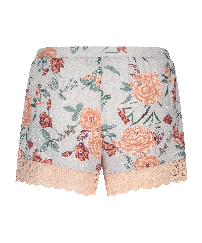 Jersey-Shorts, Grau, main