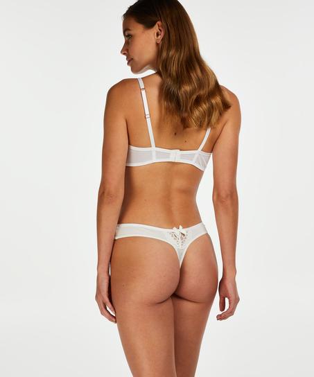 String Cardi, Weiß