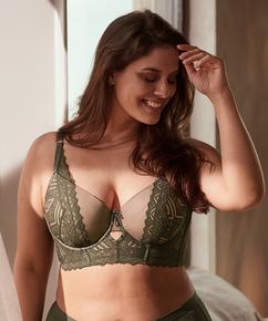 Vorgeformter Longline-Bügel-BH Rabella I AM Danielle, grün