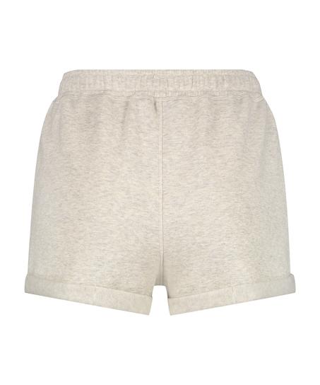 Shorts Sweat Brushed, Beige