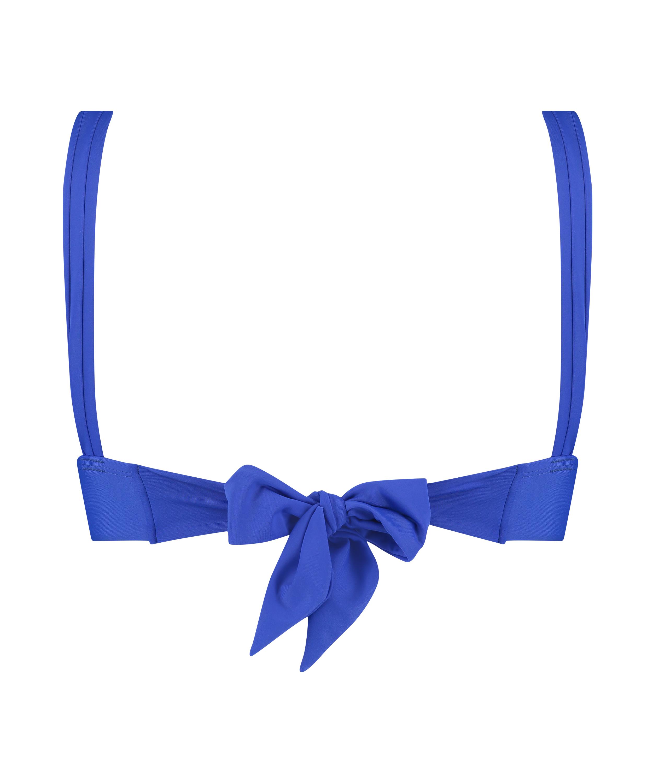 Triangle-Bikini-Top Luxe, Blau, main