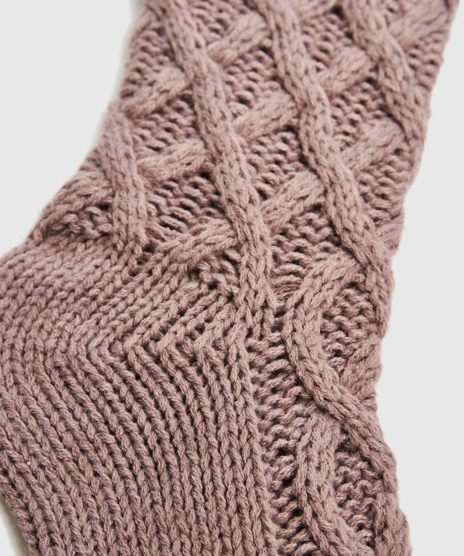 Socken Knit, Lila, main