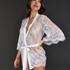 Kimono Lace Isabelle, Weiß