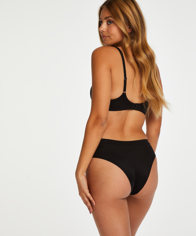 Brazilian-Shorts Soft, Schwarz, main