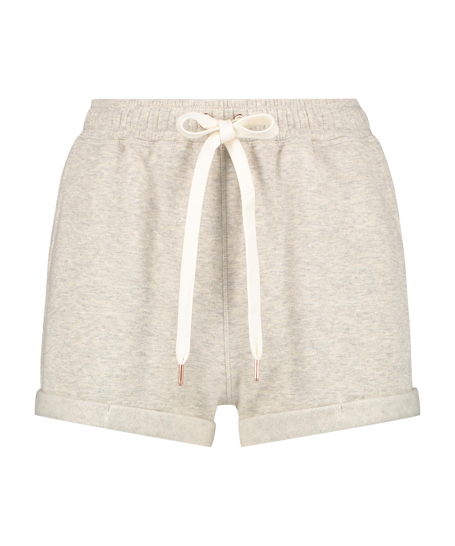 Shorts Sweat Brushed, Beige, main