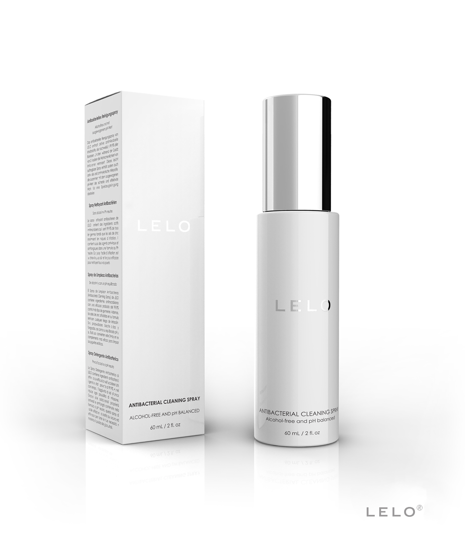 LELO Premium Cleaning Spray 60 ML, Schwarz, main