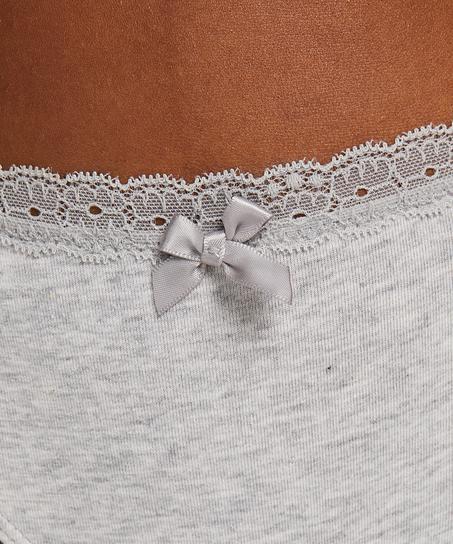 String Baumwolle, Grau