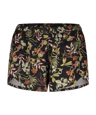 Pyjama-Shorts, Schwarz