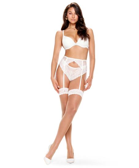 Stockings 15 Denier Lace, Weiß