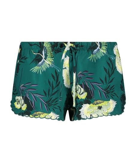Pyjama-Shorts, Grau