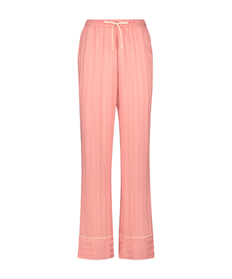Tall Pyjamahose Woven, Rose