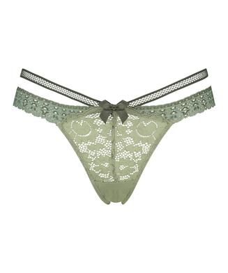 Extra tiefer String Martha, grün