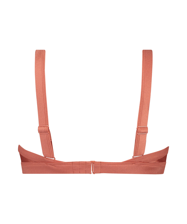Bikini-Crop-Top Bonita, Orange, main