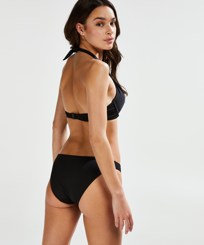 Vorgeformtes Push-up-Bikinitop Sunset Dream Cup A - E, Schwarz, main