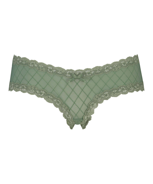 Brazilian V-shape mesh, grün, main