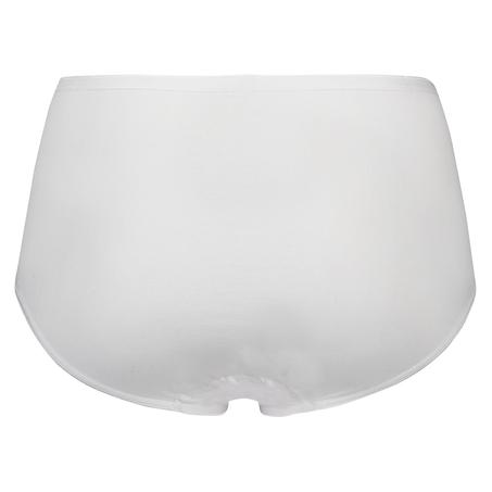 Superslip midi baumwolle, Weiß