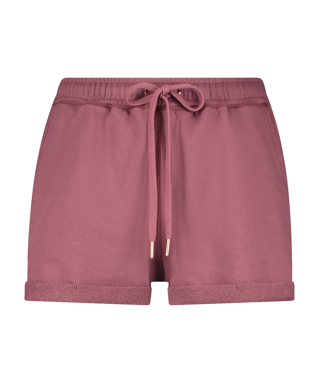 Shorts Sweat French, Rose, main