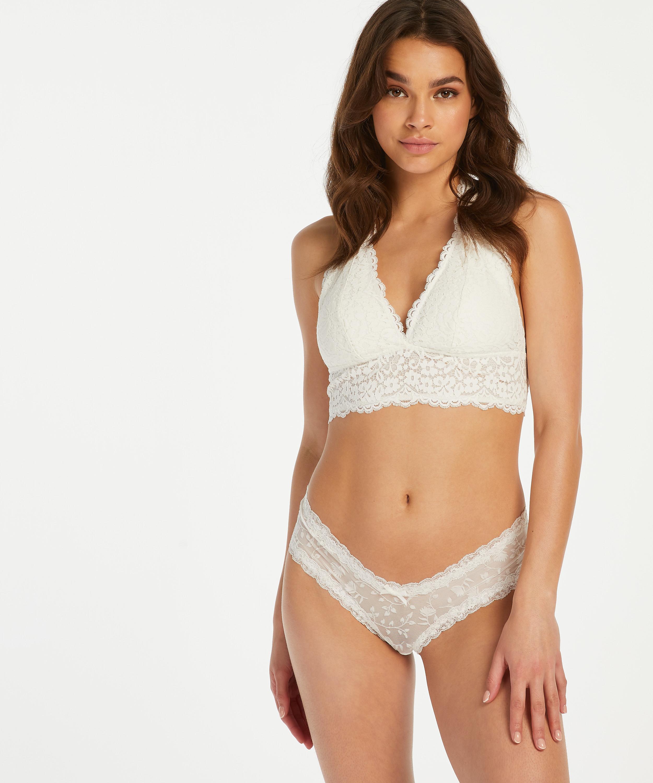 Brazilian V-shape mesh, Weiß, main