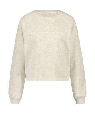 Pullover Sweat Brush, Beige