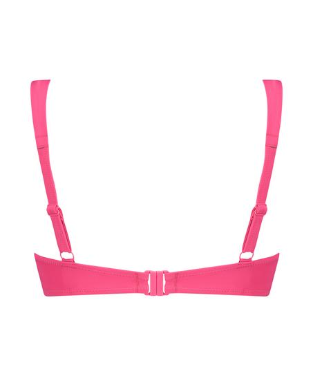 Vorgeformtes Bügel-Bikinitop Luxe Cup E +, Rose