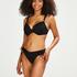 Rio Bikini-Slip Crochet, Schwarz