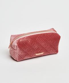 Velours-Schminktäschchen, Rose