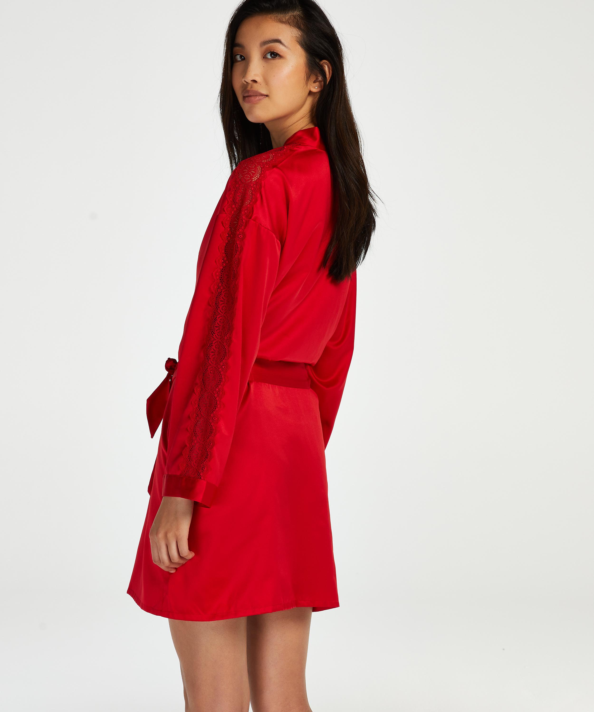 Kimono Satin, Rot, main