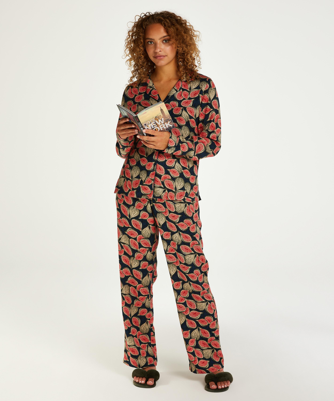 Pyjamatop langärmelig Dragonfly, Blau, main