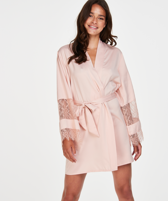 Satin-Kimono Bridal, Rose, main