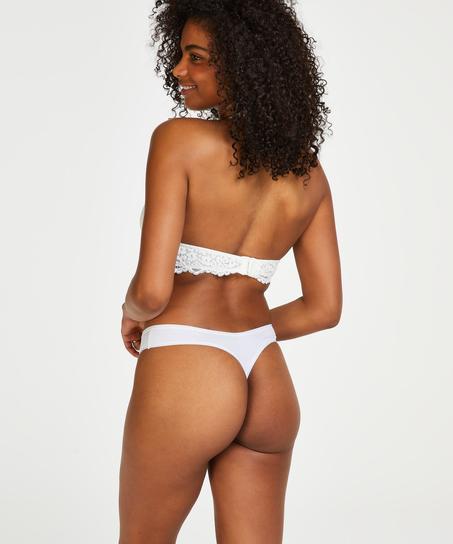 2er-Pack String Kim Cotton, Weiß