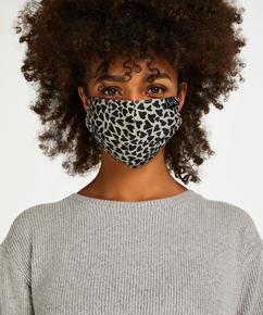 Gesichtsmaske Cotton, Braun