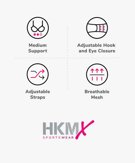 HKMX Sport-BH The All Star Level 2, Schwarz