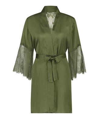 Kimono Satin Lily, grün