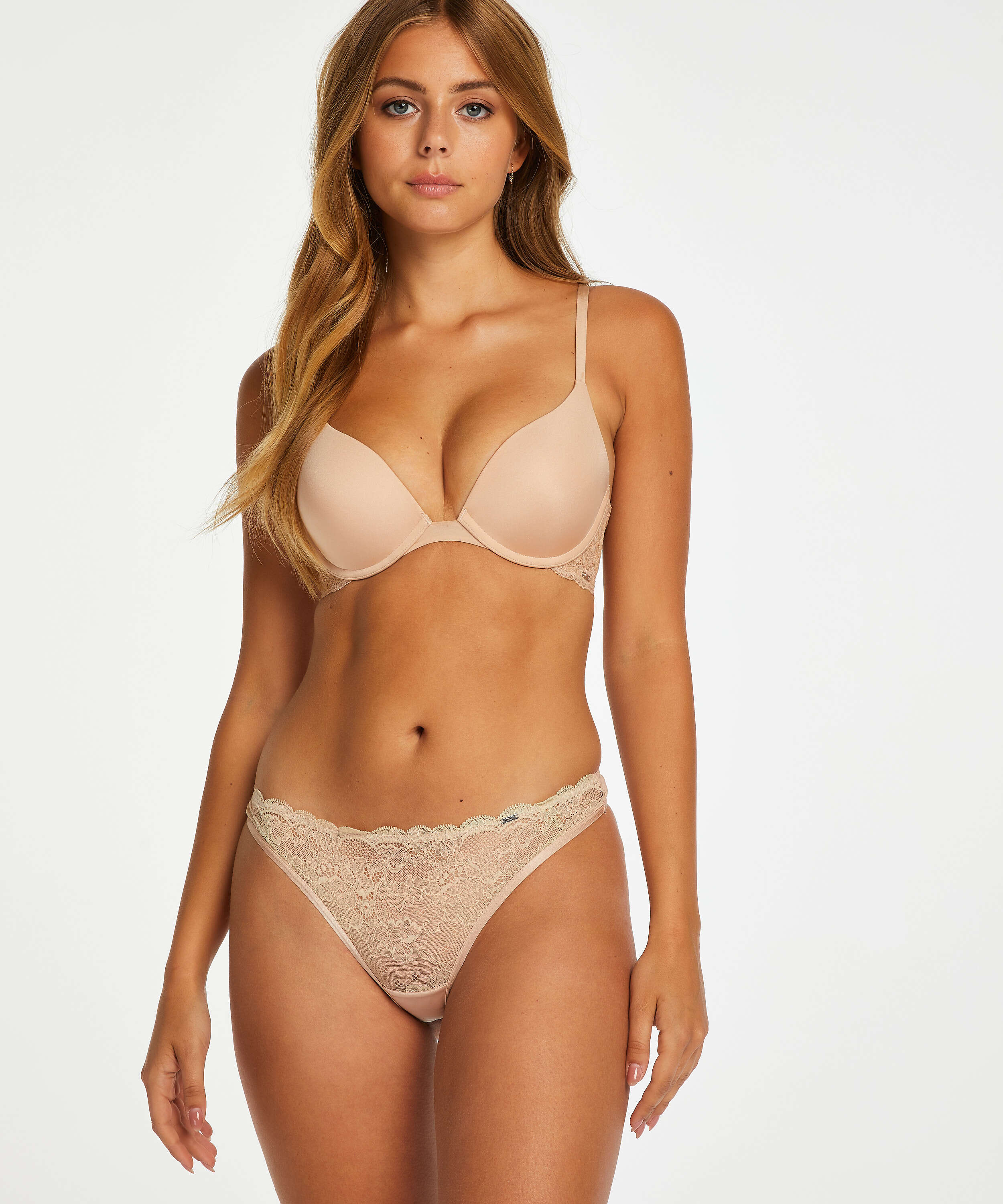 Vorgeformter Push-up-Bügel-BH Angie, Beige, main