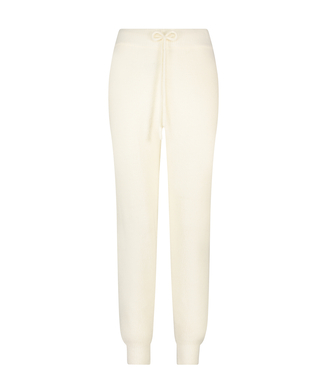 Premium Jogginghose Fluffy, Weiß