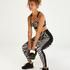 HKMX Sport-Legging mit hoher Taille, Rose