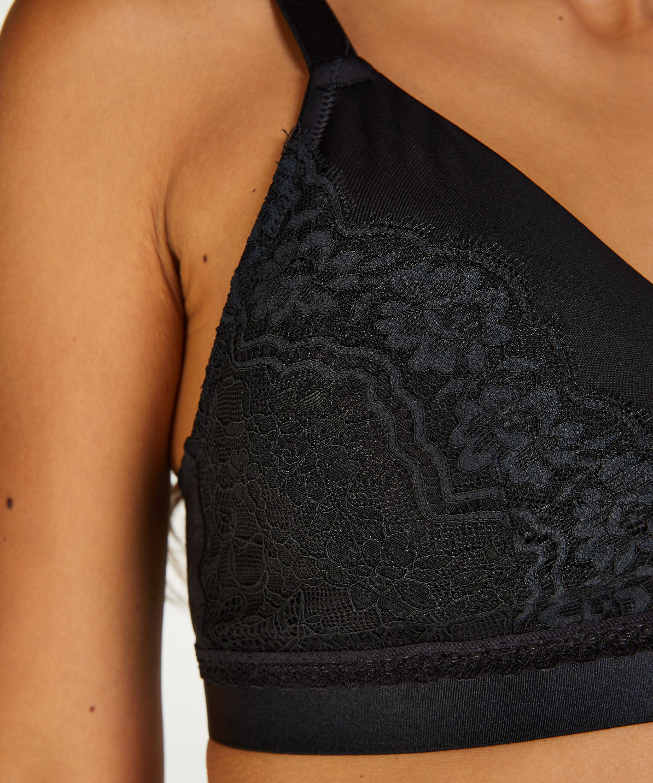 Prothesen-BH ohne Bügel Erica, Schwarz, main