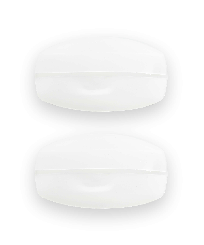 Komfortable Silikon-BH-Träger, Weiß, main