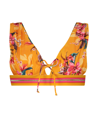 Triangle-Bikini-Top Orchid, Gelb