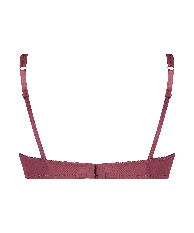 Vorgeformter Bügel-BH Secret Lace, Rot, main