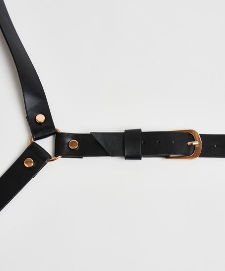 Private Body Harness, Schwarz