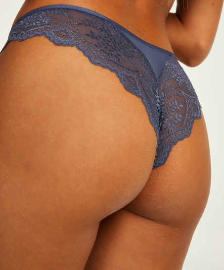 Brazilian mit hohem Beinausschnitt Heira, Blau
