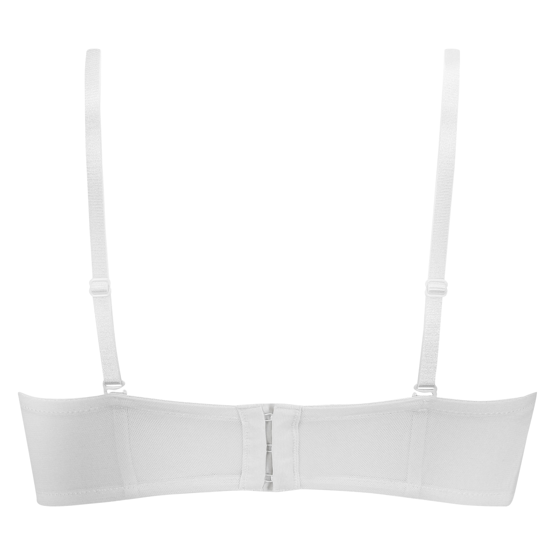 Vorgeformter Bügel-BH Maya, strapless, Weiß, main