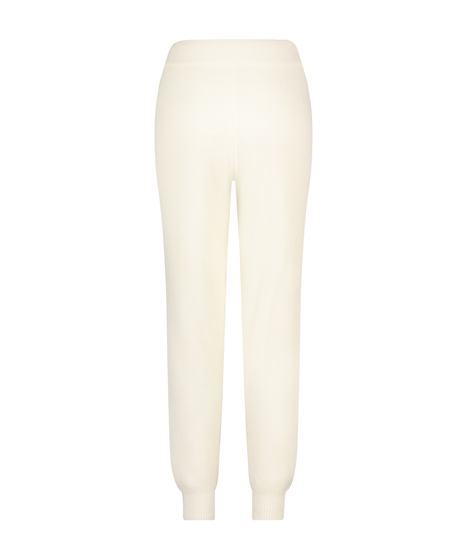 Premium Jogginghose Fluffy, Weiß, main