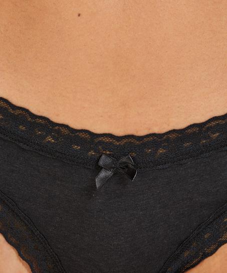 3er-Pack Brazilian Slips, Rot