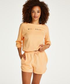 Shorts Sweat French, Orange