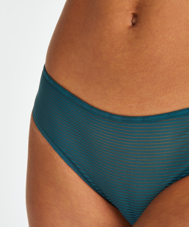 Invisible Brazilian Stripe Mesh, Blau, main