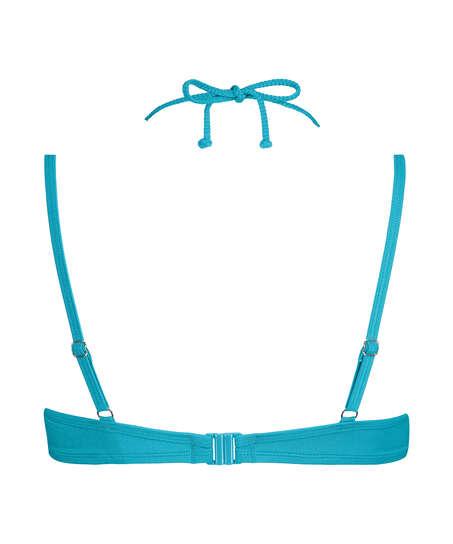 Vorgeformtes Bügel-Bikini-Oberteil Celine, Blau