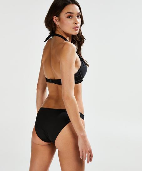 Vorgeformtes Push-up-Bikinitop Sunset Dream Cup A - E, Schwarz