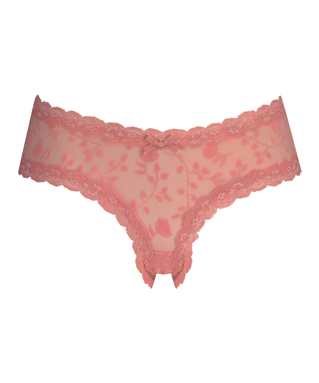 Brazilian V-shape mesh, Rose, main